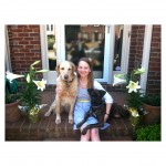 Cate Davis Volunteer with her dogs photo
